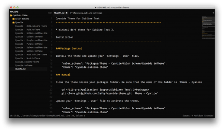 Cyanide for Sublime Text 2 Thumb
