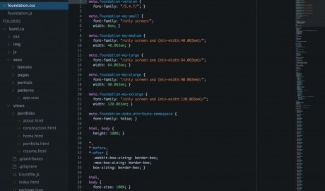 Fox for Sublime Text 2 Thumb