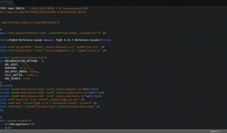 Brackets Dark for Sublime Text 2 Thumb